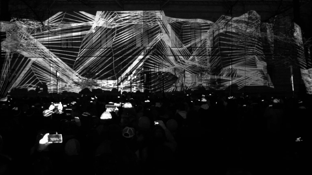 Projection mapping sounds 2015